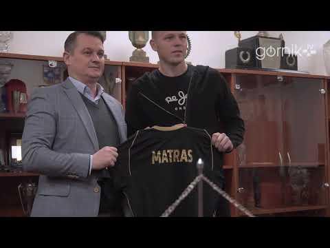 Mateusz Matras o podpisaniu umowy z Górnikiem