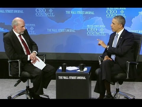 President Obama Speaks at the Wall Street Journal CEO Council Annual Meeting