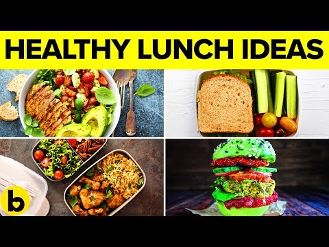 13 Quick And Healthy Lunch Recipes For School Or Work