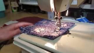 Using the Dress Maker Sewing Machine Zig Zag