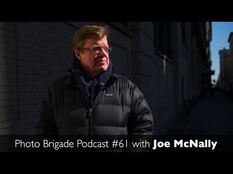 Joe McNally - Master of Light & Insight - Photo Brigade Podcast #61