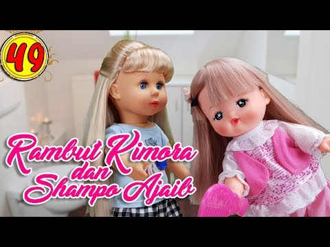 #49 Rambut Kimora dan Shampo Ajaib - Boneka Walking Doll Cantik Lucu -7L | Belinda Palace