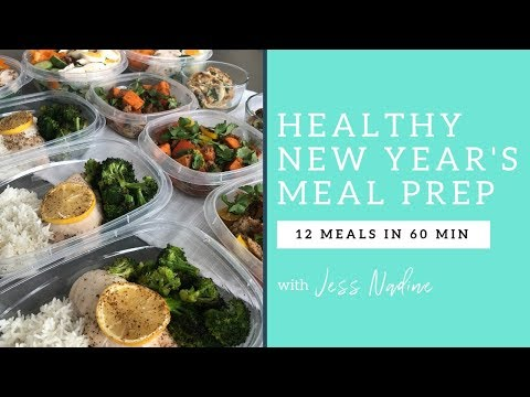 Healthy New Year's Meal Prep