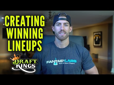 Creating Winning DraftKings Lineups With FantasyLabs