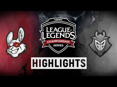 MSF vs. G2 - EU LCS Week 5 Day 2 Match Highlights (Spring 2018)