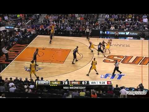 Michael Beasley 27pts vs LA Lakers (2013.01.30)
