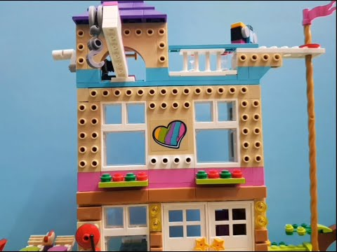 Welcome to the friendship house ???? #LEGO #legofriends #Lifewithlegoepisodes #Lifewithlego