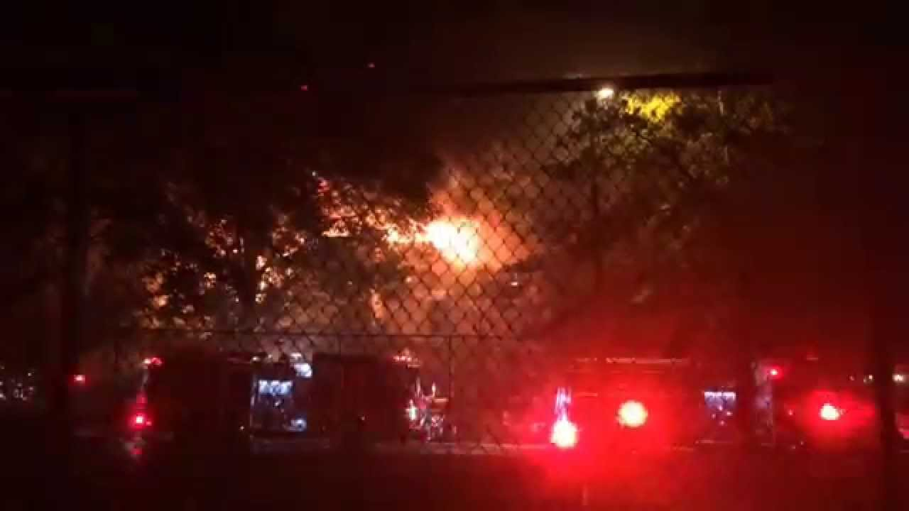 Fire At Sunflower Apartments. Knoxville News Sentinel