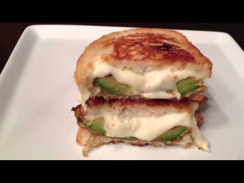 Fresh Mozzarella  Fried Avocado Grilled CheeseYouTube