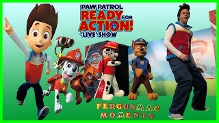 paw patrol live show for kids at city square mall 1st in asia singapore