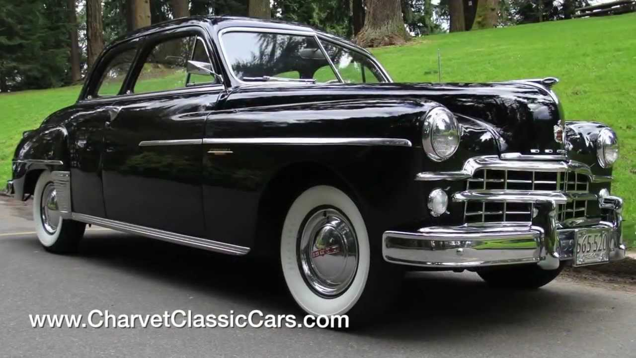 Original 1949 Dodge Coupe Walkaround Tour Www