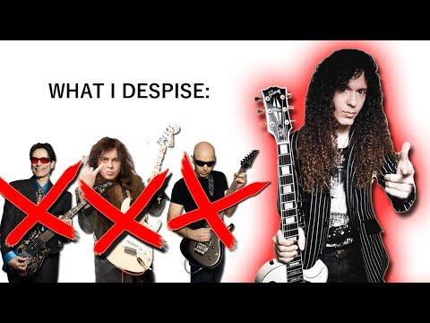 Marty Friedman: What I DESPISE About Guitar Shredders!
