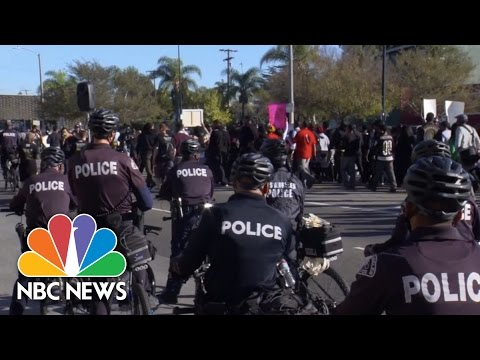 Download L.A. Protests Police Shooting Of Ezell Ford | NBC Nighly News