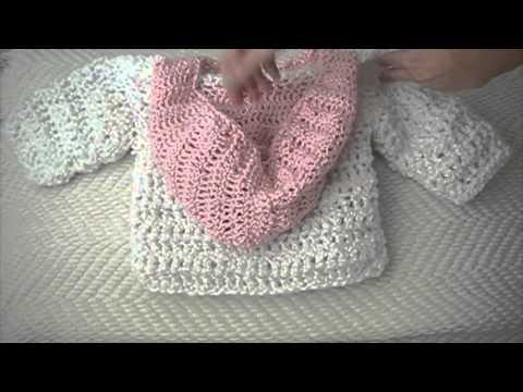 Crochet baby Hoodie, sweater - YouTube