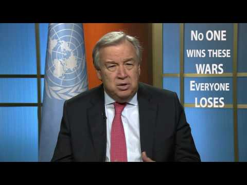 #UN: New Year appeal for peace by Secretary General António Guterres