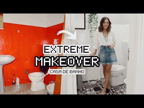 WC PINTEREST POR MENOS DE 150€ *extreme makeover*  Inês Rochinha