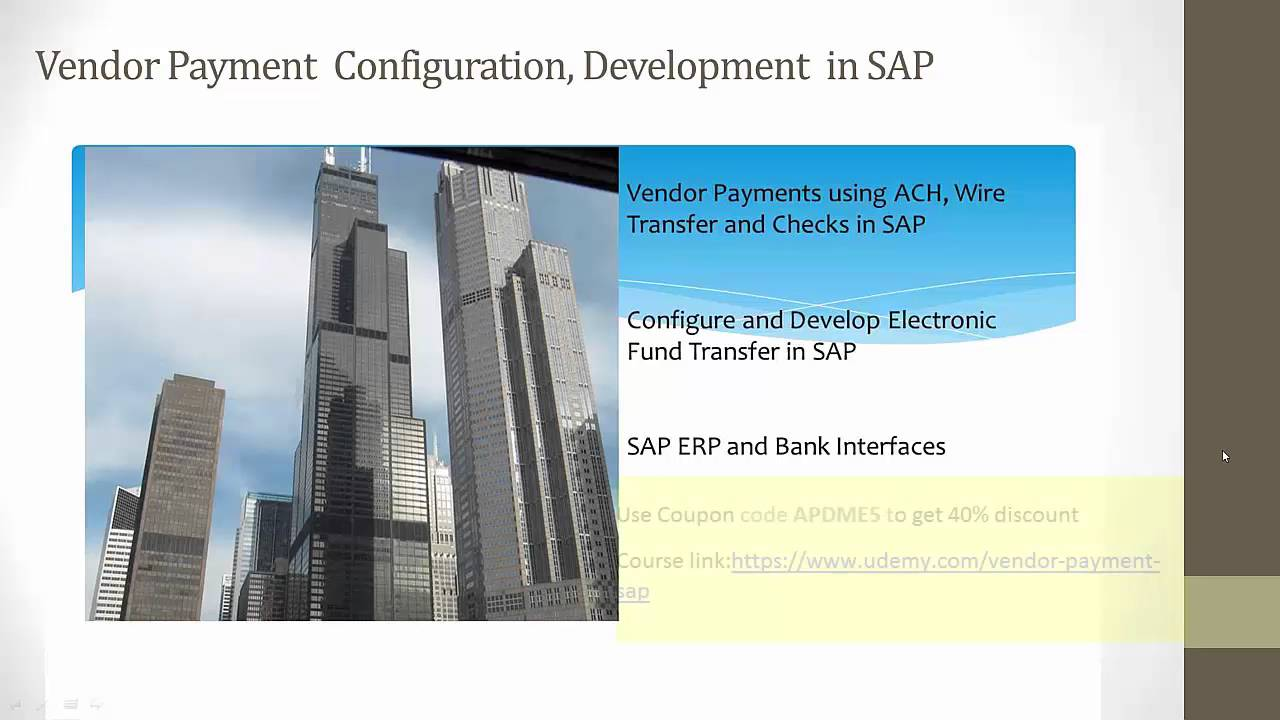 Sap Payment Process Configuration And Development Ach Wire Check Wiring Funds Vs