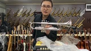 야마하 2330S Bb트럼펫 새제품 언박싱 (ytr23…