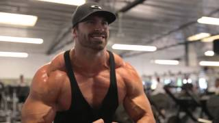 Bradley Martyn | CHEST DOMINATION | 150lb DB INCLINE PRESSES | BODYBUILDING MOTIVATION
