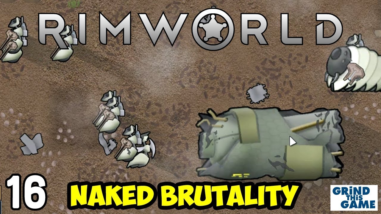 Rimworld 1 0 - Naked Brutality Megabase #16 - Poison Ship