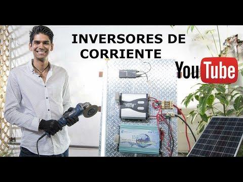 Inversores de corriente | Convertidores para instalación Solar | Características 12V 110VAC