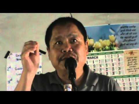 Nepali Christian message about Abraham Biswash