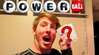 The Winning Powerball Ticket?!
