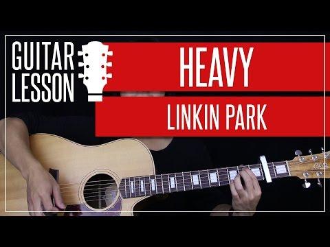 Heavy Guitar Tutorial - Linkin Park Guitar Lesson 🎸 |Easy Chords + Guitar Cover|