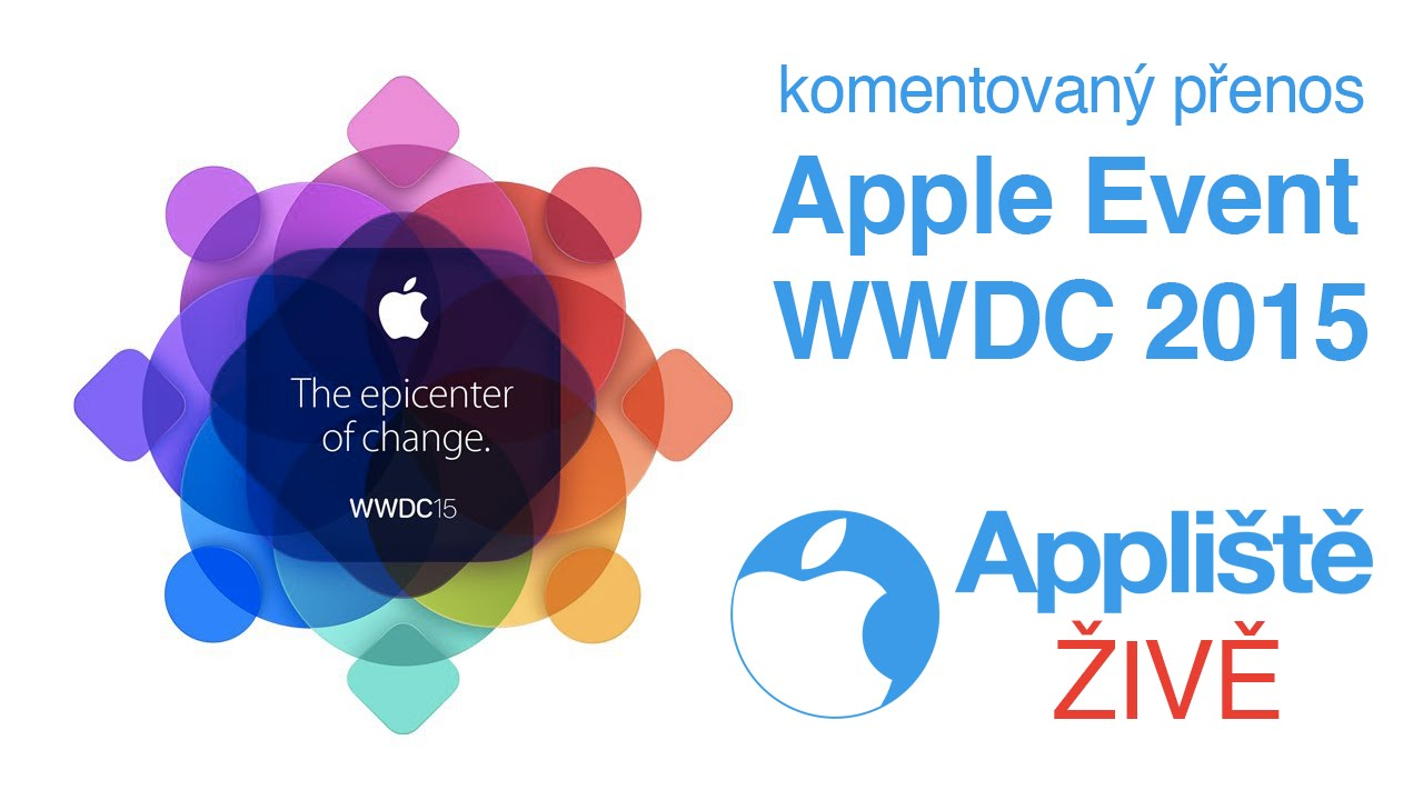 Apple Event WWDC 2015 - komentovaný live přenos - YouTube