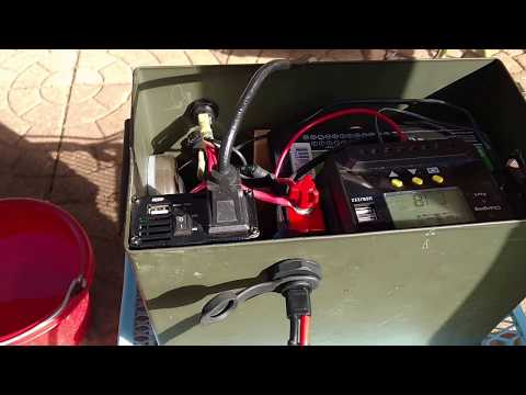 SAE socket installed on solar power generator (and a shout out)