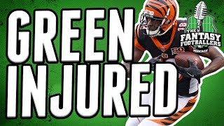 A.J. Green Sidelined for Two Weeks   Fantasy Football Impact