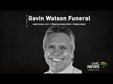 Gavin Watson funeral, 03 September 2019