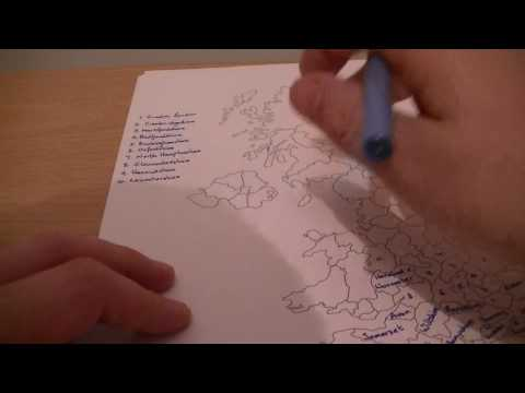 Counties of the UK (Soft Spoken) (Learn With Kev!)