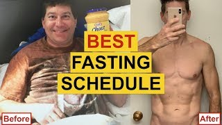 Fasting for Weight Loss - THE BEST INTERMITTENT FASTING SCHEDULE For Weight Loss (INSANE RESULTS)