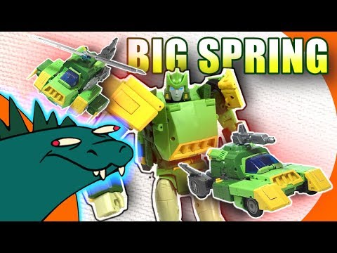 Big Spring Open and Play Third Party Transformers Review