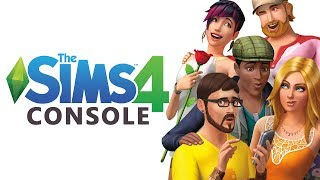 THE SIMS 4 CONSOLE!!  [ Create a Sim, Gameplay and Build ] PS4