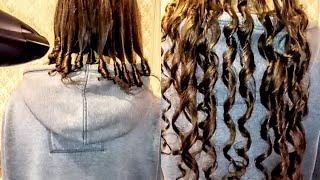 ЛОКОНЫ БЕЗ ПЛОЙКИ И БИГУДИ ЗА 10 МИНУТ Прическа на длинных волосах Новый способ накрутить кудри