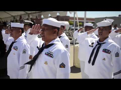 Philippine Navy 2016 - Turnover of 3rd Warship (BRP Andres Bonifacio FF-17)  from United States