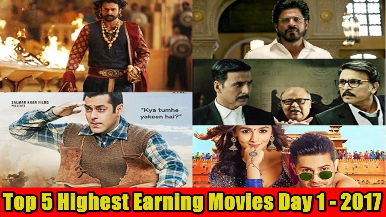 Top 5 bollywood movies first day box office collection - Highest box office collection bollywood ...