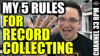 THE 5 RULES I FOLLOW when buying records | VINYL COMMUNITY