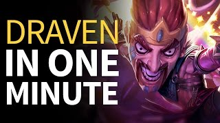 Patch in One Minute 6.Draven - League of Draven