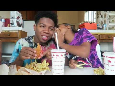 IN N' OUT MUKBANG WITH SISTER (SHE DID WHAT!! WITH HER BOYFRIEND AT 14!) ll Deshae Frost