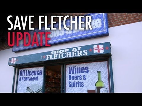 Tommy Robinson: SaveFletcher.com UPDATE — Sign is going back up!
