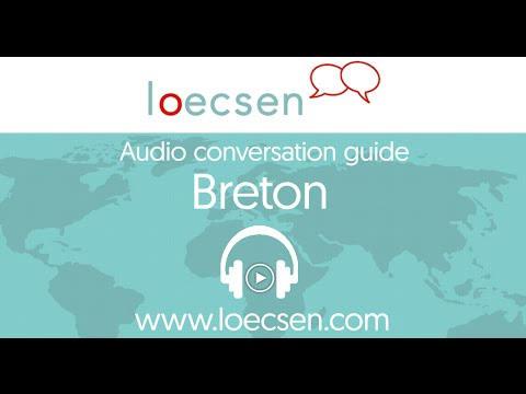 Audio breton courses: 400 basic words and useful phrases for your trip