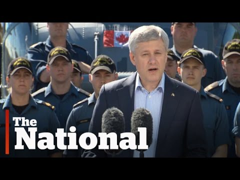 Stephen Harper's blunt words on Vladimir Putin