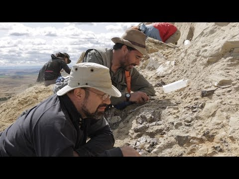 Uncovering The Late Jurassic In Wyoming