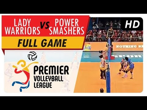 Power Smahers vs. Lady Warriors | Full Game | 1st Set | PVL Reinforced Conference | May 16, 2017