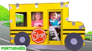 As Rodas do Ônibus - canção para crianças   Canções infantis   Katya e Dima