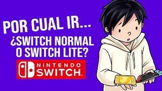 ¿Nintendo Switch Normal o Switch LITE? Análisis definitívo