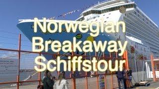 Norwegian Breakaway - Schiffstour und Rundgang - Norwegian Cruise Line